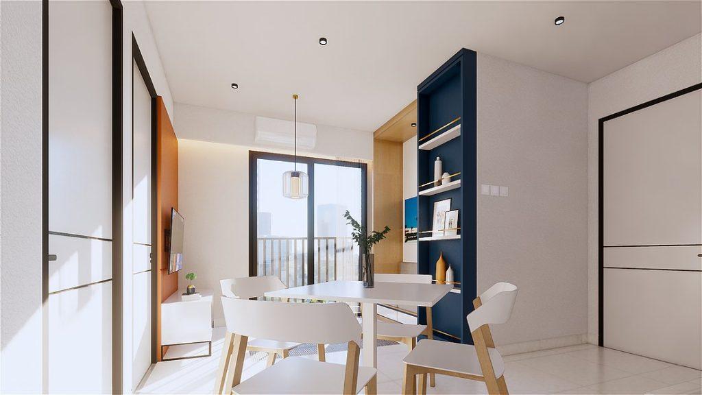 Living Room - 2 Bedroom