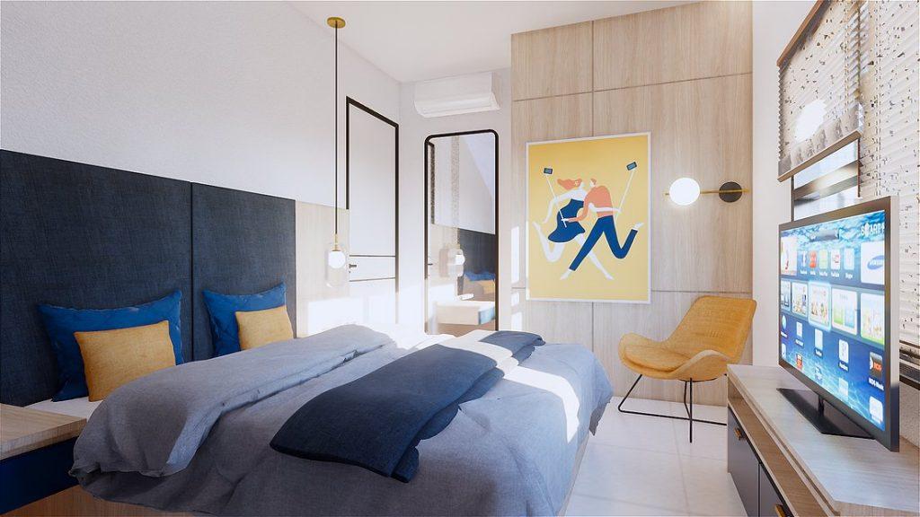 bedroom 2 - 2 Bedroom