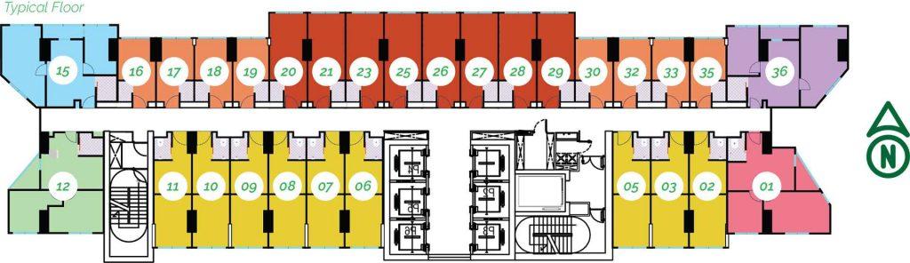 tower vertue - Floor-Plan-Vertue-Typical-4x