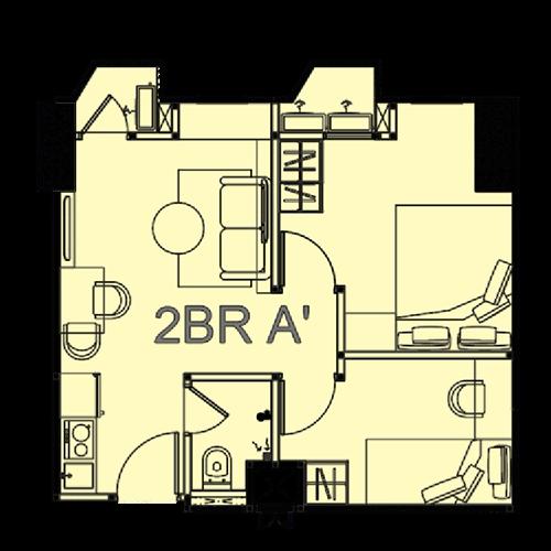 tower victoria - Unit-Plan-2BR-A-Victoria